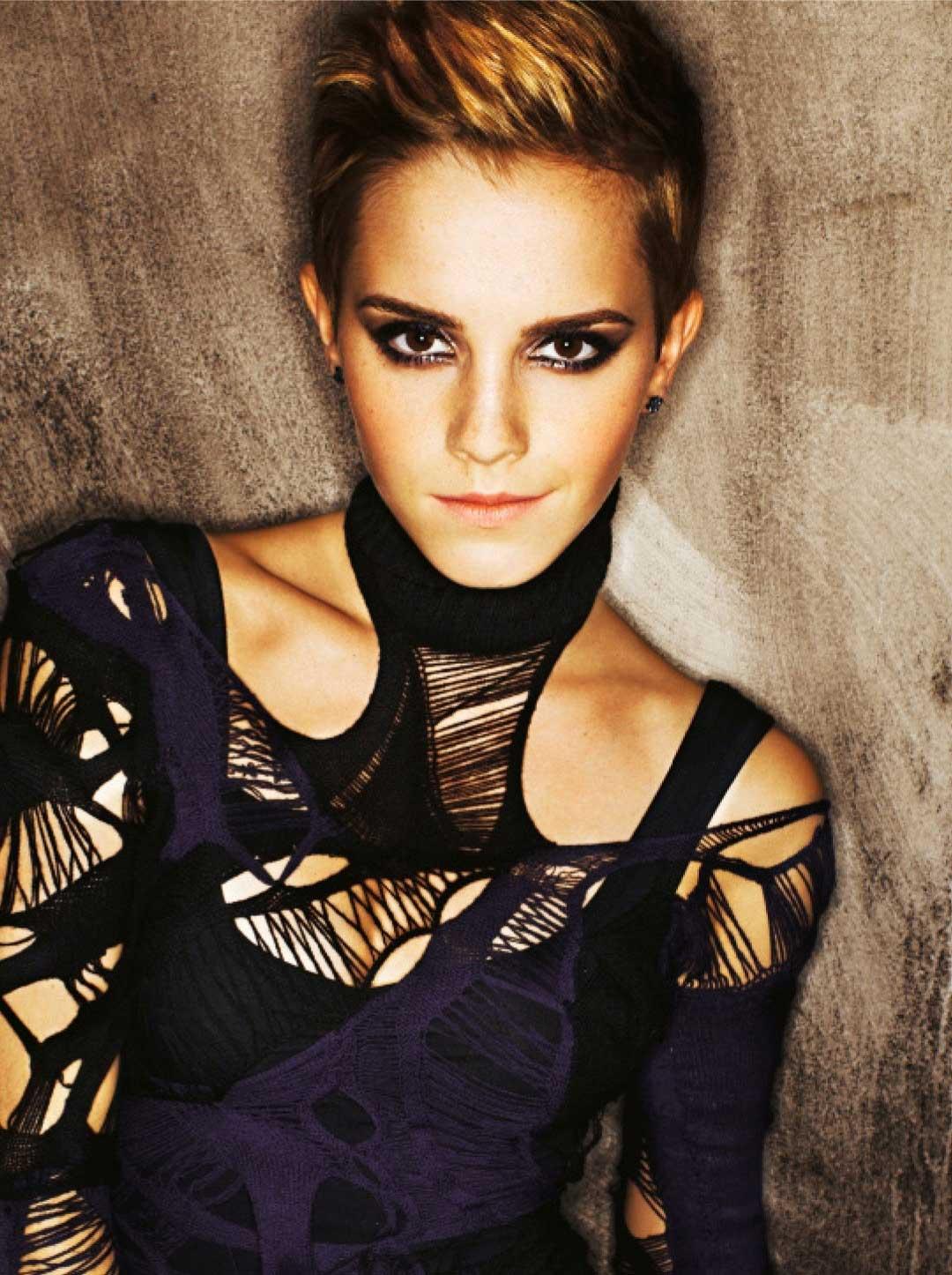 Emma Watson Hollywood Actress 40 Fantastic Photos: Emma Watson Is Daring: Mariano Vivanco's Dramatic