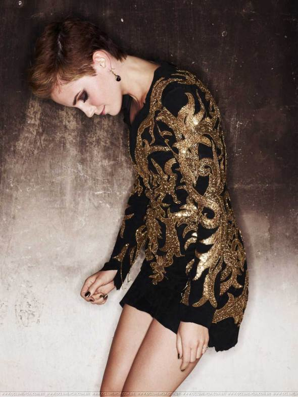 Beautiful Emma Watson fashion photography mariano vivanco