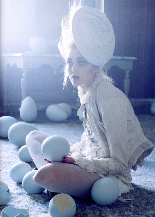 Beauty model natural fashion photography tim walker