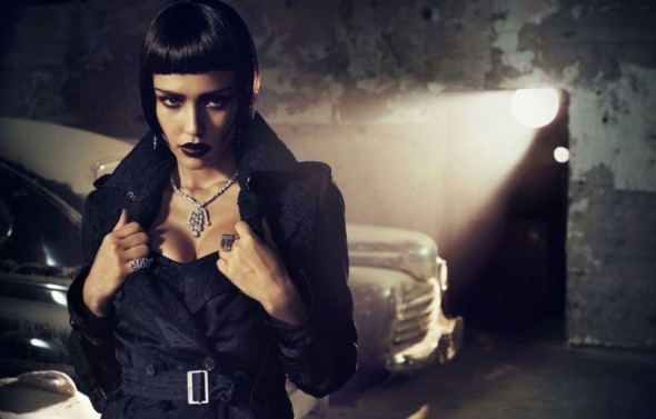 beautiful actress jessica alba battista vogue italy fashion photography