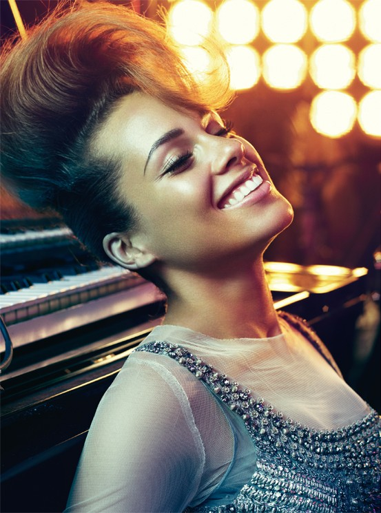 alicia keys fashion photo music