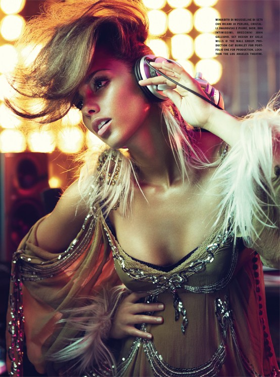 alicia keys singer vogue photography fashion