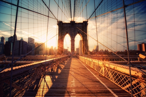 Brooklyn bridge sunset phillip klinger flickr