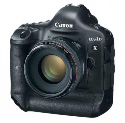canon new full frame DSLR 1DX