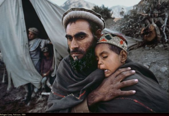 Steve Mccurry war middle east photography