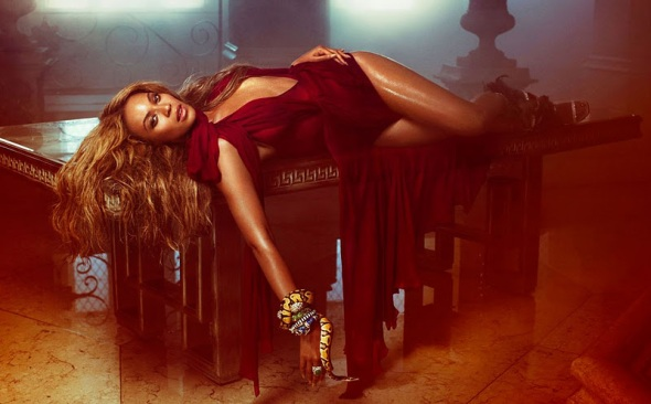 beyonce knowles popstar dramatic image